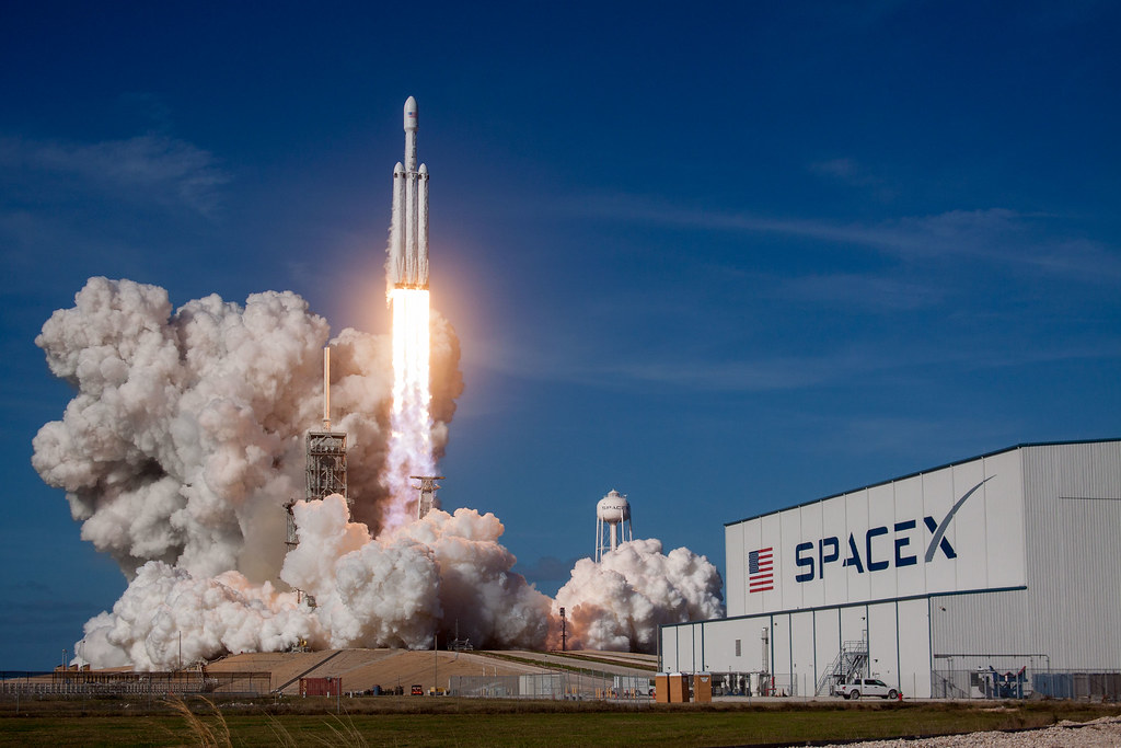 Falcon Heavy Demo Mission | Official SpaceX Photos | Flickr