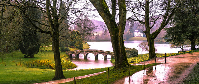 A wet Spring at Stourhead