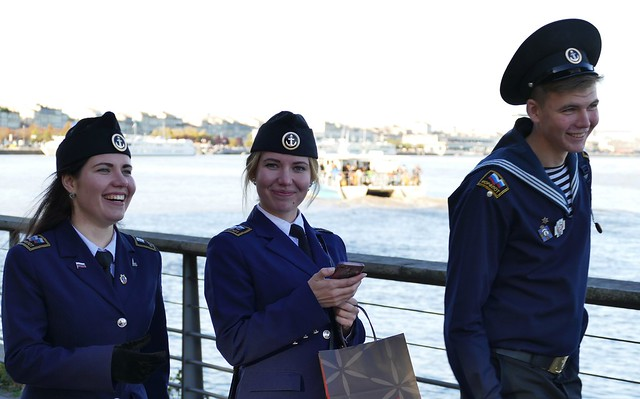 Bordeaux - 3 Russian Sea Cadets