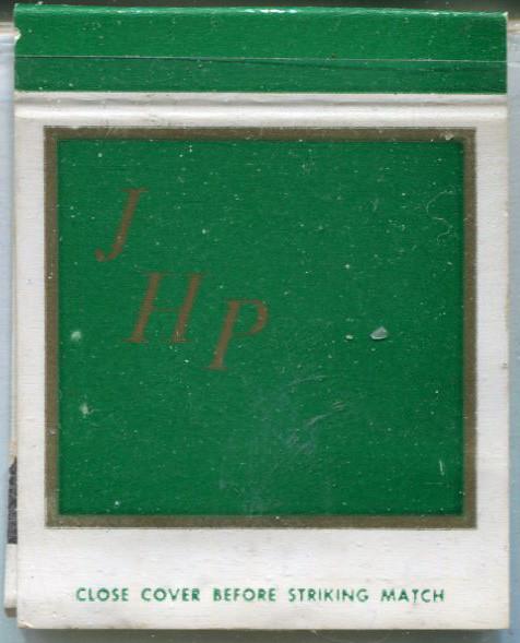 Vintage Matchcover