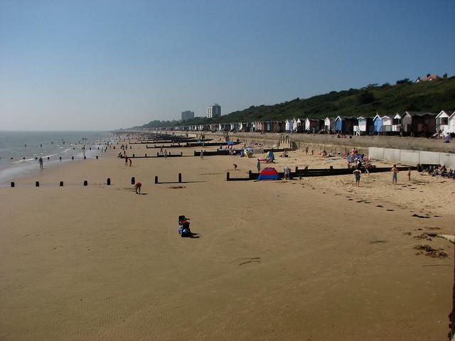 The beach at Walton-on-the-Naze