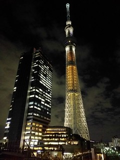 Skytree at Night | by boxthump
