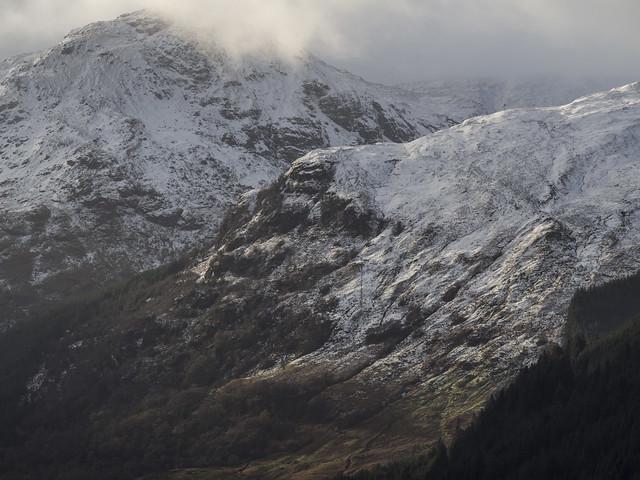 Mist On the Mountains - Loch Eck Nov 2017