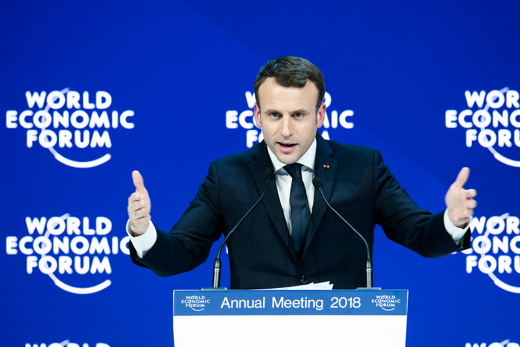 Special Address by Emmanuel Macron, President of France at the Annual Meeting 2018