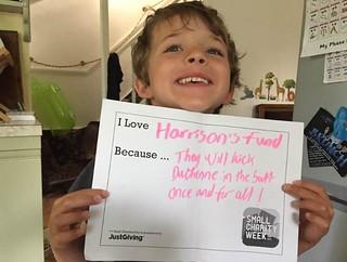 Harrison | by Small Charity Week