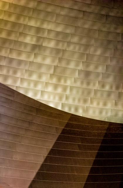 Walt Disney Concert Hall Abstract