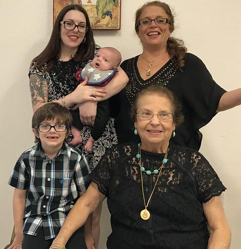 Nicole, Leila, Roman, Jackson & Granddaughter | by Holy Spirit Orthodox Church
