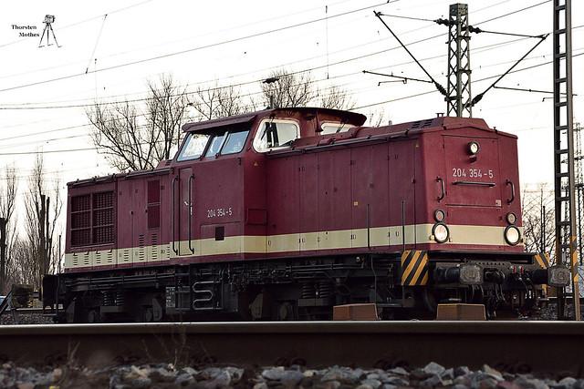 MTEG V100 204 354-5, Bj. 1971 durch LEW