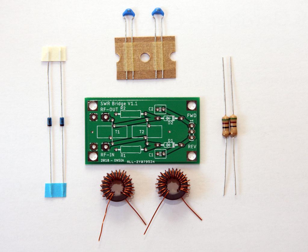 SWR Bridge Kit | Kit to build a SWR Bridge based on the Sont