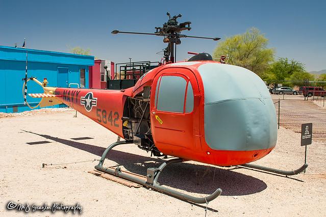 145842 USN   Bell TH-13N Sioux   Pima Air & Space Museum