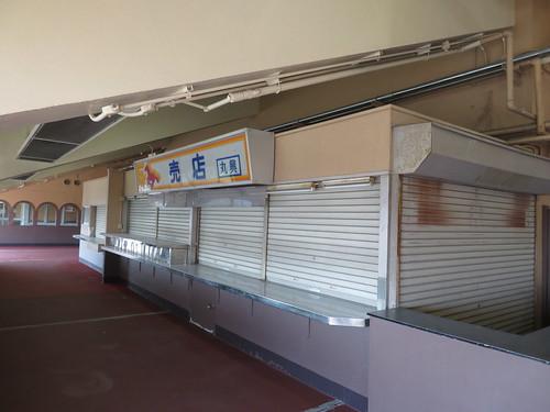 船橋競馬場の売店丸興の跡地