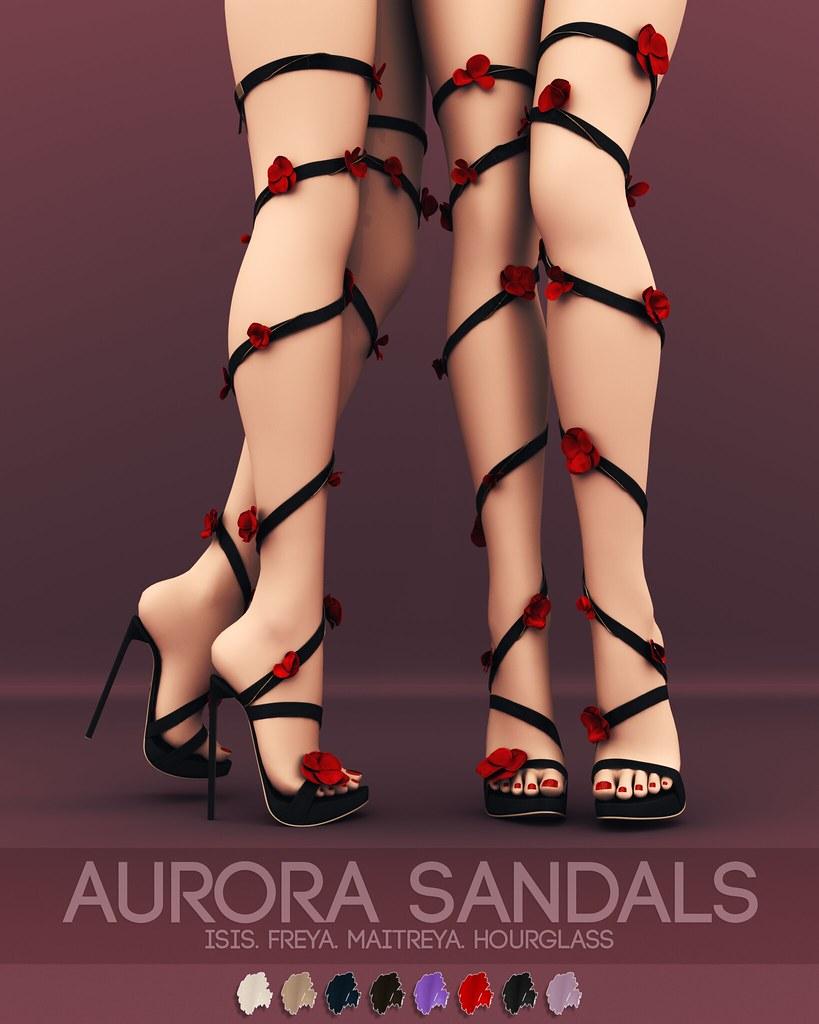 Pure Poison - Aurora Sandals AD