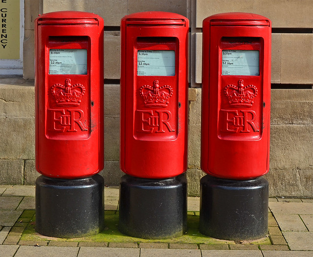 Elizabeth II Type K Pillar Boxes