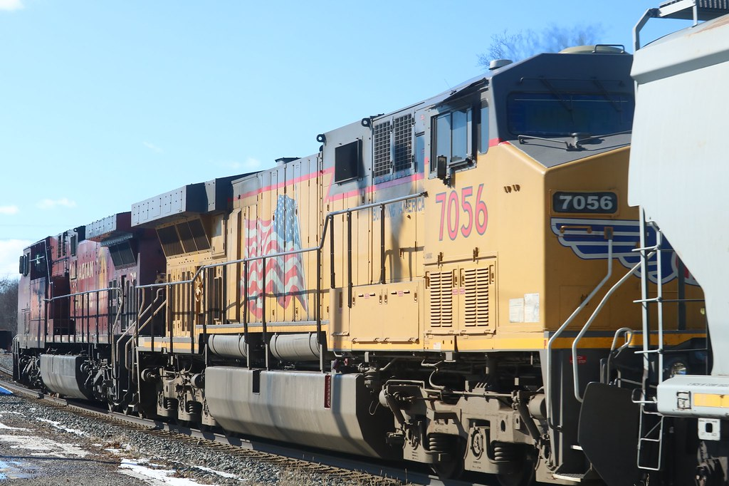UP 7056 (1) (GE AC6000CW)  | Brian Bui | Flickr