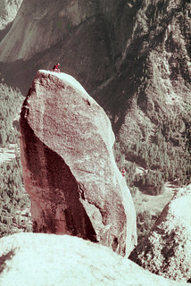 Climbers on the Lost Arrow Spire | by Richard-