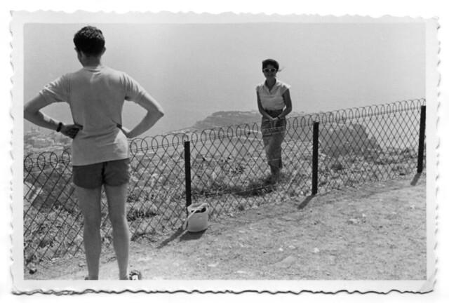mamma ad Eze - agosto 1956 (9912)