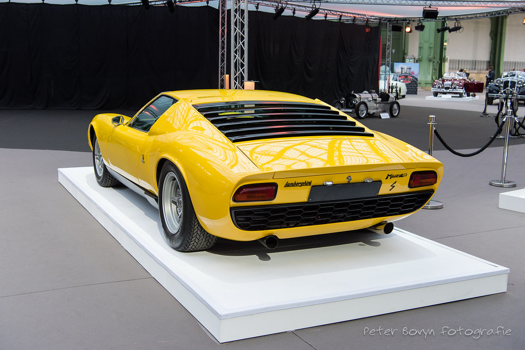 Lamborghini Miura P400 S 1968 Coachwork By Bertone Chass Flickr