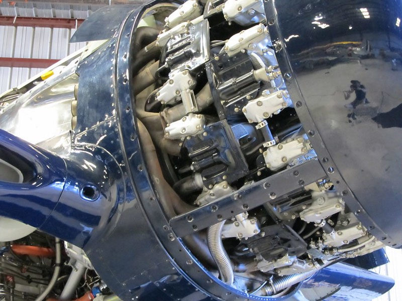 Grumman F8F-2 Bearcat 4
