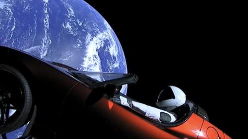 Starman by Elon Musk | by VH-EBM