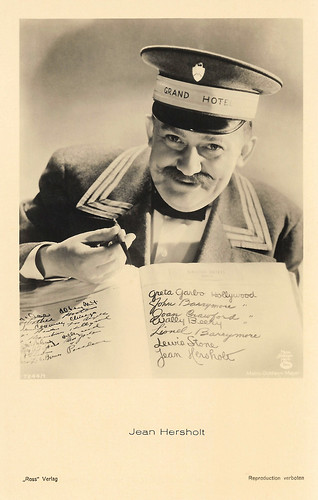 Jean Hersholt in Grand Hotel (1932)