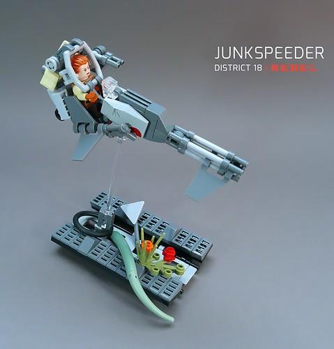 Junkspeeder LEGO MOC | by GolPlaysWithLego