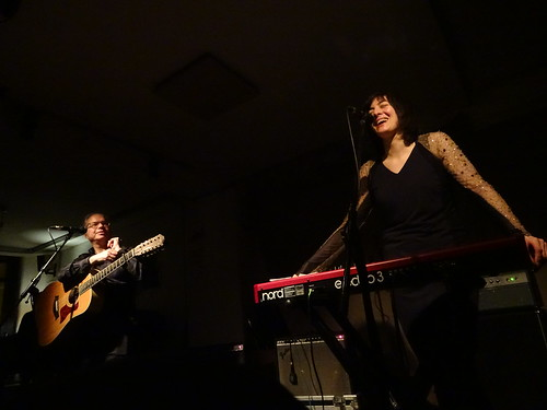 Damon & Naomi at Cafe OTO, London, February 2018 | by andyaldridge