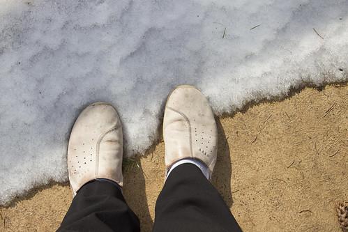 050/365 Standing on White Stuff