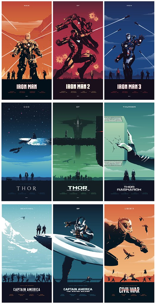 The Marvel Cinematic Universe Trilogies - So I was ...