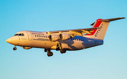 City Jet BAe 146-RJ85 EI-RJU | by Neil D. Brant