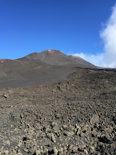 Etna- path to summit