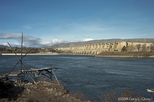 The Dalles Dam, Feb 2018 # 2