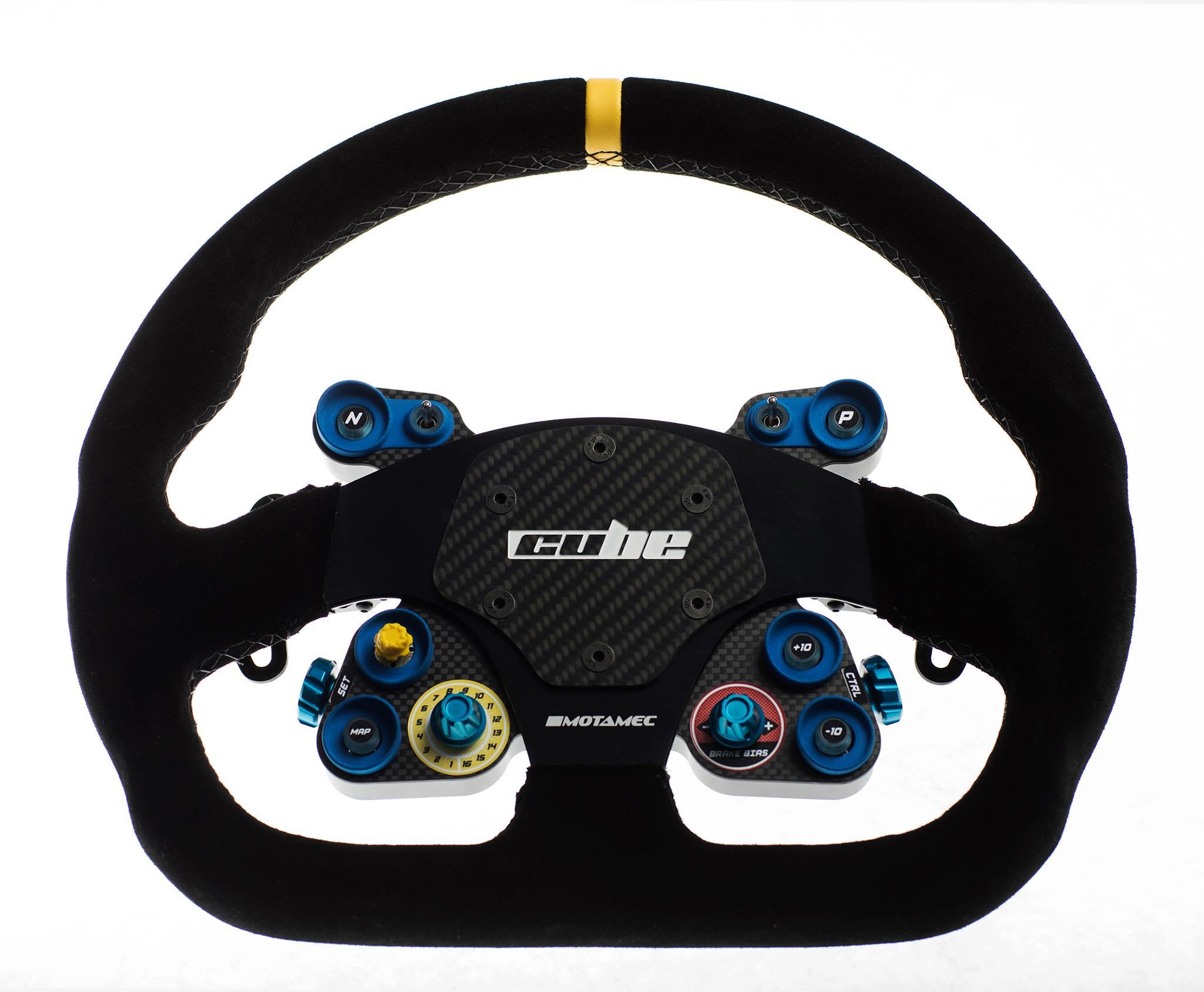 Cube Touring steering wheel 4