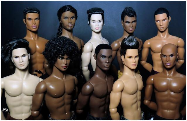 Tag Game: Les Hommes/ The Men