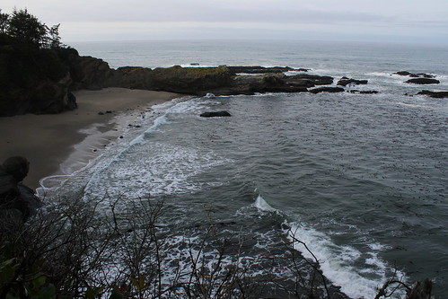 cape arago shore acres sunset bay oregon coast trail hiking christmas lights coos charleston