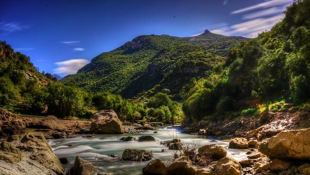Akchour. Marruecos