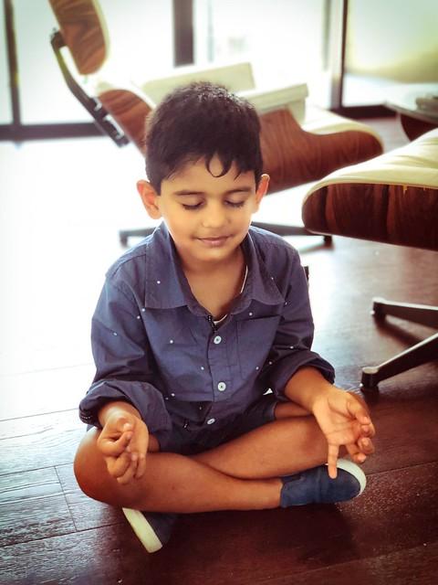 The Meditator   Aaron