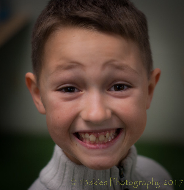 Riley's Big Smile