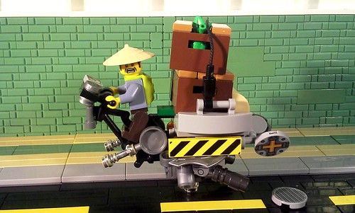 """""""Chinatown Speederbike Delivery"""" 