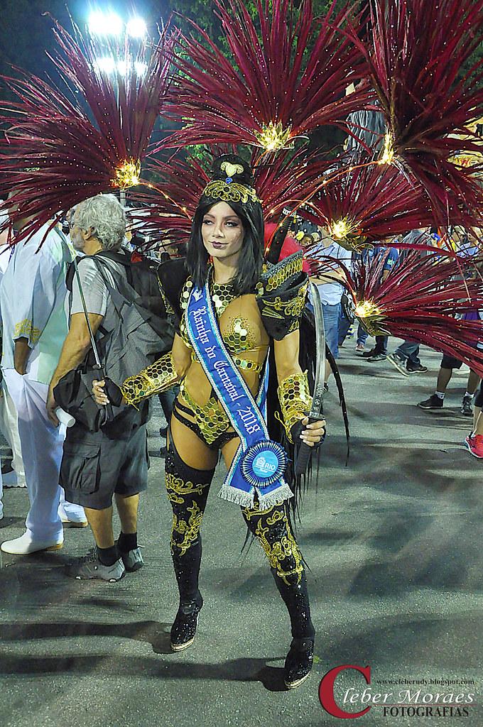 Rainha Carnaval 2018 - Rio de Janeiro - RJ - Brasil