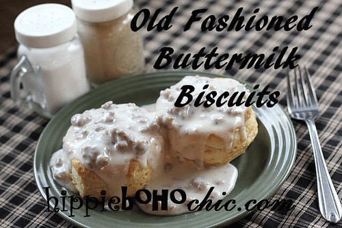 Old-Fashioned-Buttermilk-Biscuits | by hippiebohochic