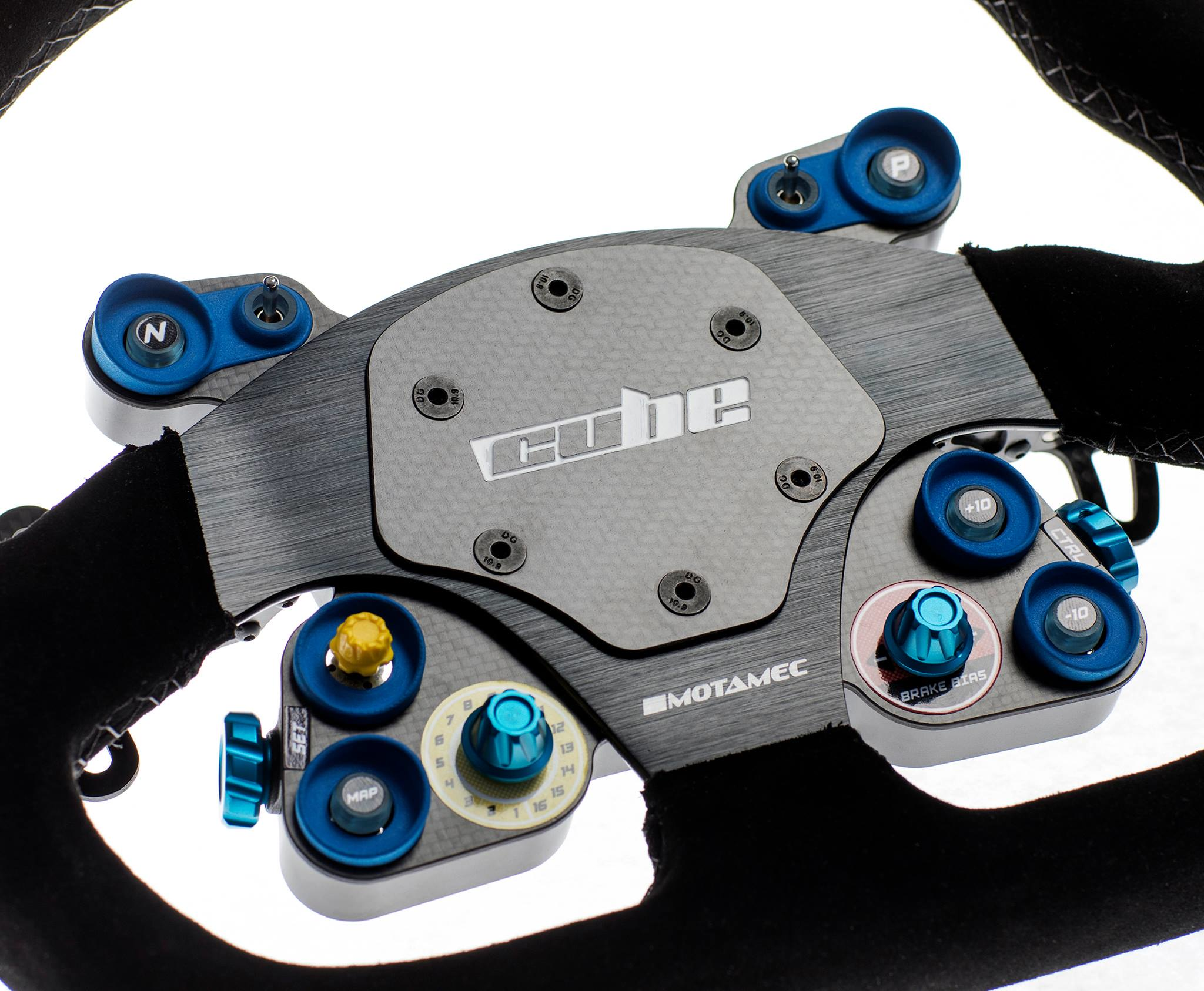 Cube Touring steering wheel 5