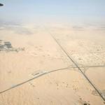 Flying over Iraq