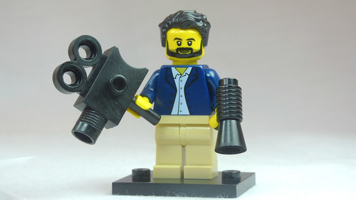 Brick Yourself Custom Lego Figure Windswept Film Director | by BrickManDan
