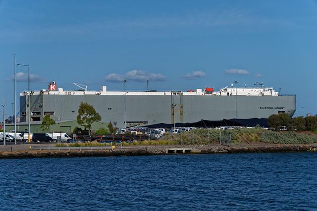Port Melbourne docks