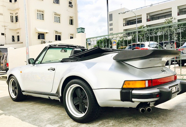 Porsche 930 with BZ Wheels