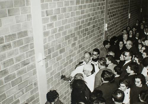 25 de marzo de 1965 - Día de la inauguración [16] - Benedicere, sanctificare et consecrare digneris...