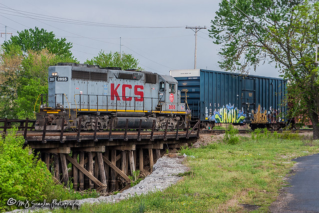 KCS 2855 | EMD GP40-2 | KCS Artesia Subdivision