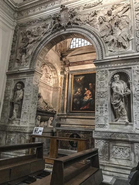 Roma : Chiesa di S. Maria della Pace -Cappella Cesi