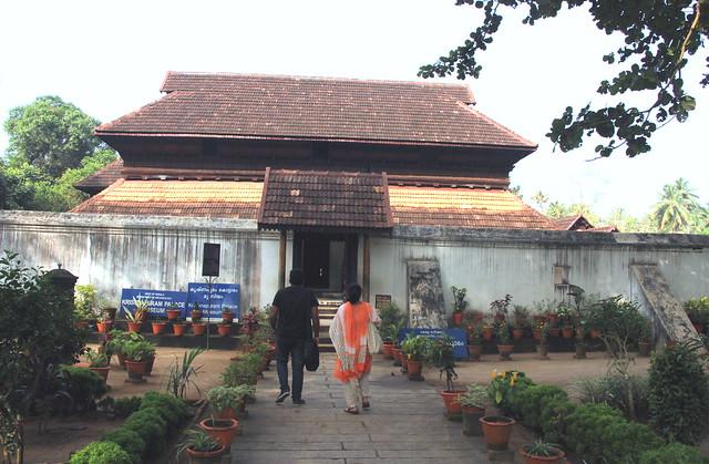 Krishanpuram Palace.