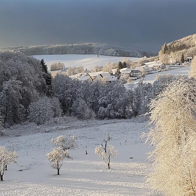 Lindenfels-Winterkasten, gesehen von der Eleonoren-Klinik